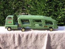 "VINTAGE Tonka Car Vehicle Hauler Transport Carrier Semi Truck 18 1/2"" Length"