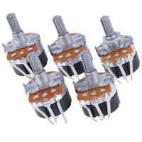 5PCS Switch Carbon Potentiometer B500K WH138-4 Ohm Single Linear With Switch HO
