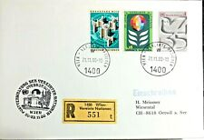 United Nations Wien Austria 1980 35th Anniversary of the UN STAMPS ON COVER