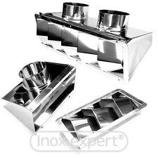 Bootsmotoren Belüftung Edelstahl VA Lüftungsblech Motorraum-Lüfter Nirosta Niro