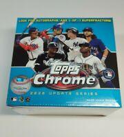 2020 Topps Chrome BLUE Update Series MLB Baseball Mega - ON HAND / Fast Shipping