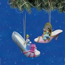 Hawthorn Disney Once Upon a Slipper #8 Cinerella & Jasmine Set NEW Aladdin