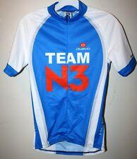 Mens Team N3 Owayo Racing Cycling Bike Jersey Shirt S 3/4 zipper zip Microsoft