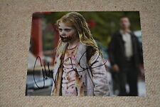 ADDY MILLER signed Autogramm 20x25 cm In Person THE WALKING DEAD Summer