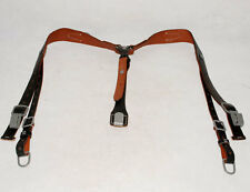 WW2 GERMAN ARMY LEATHER Y STRAP STRAPS Y-STRAPS LOAD BEARING EQUIPMENT -32343