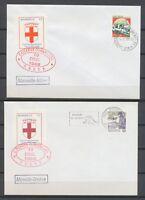3 Env. avec Timbre de Grève PTT Marseille 1988 3 Destinations différentes H2041