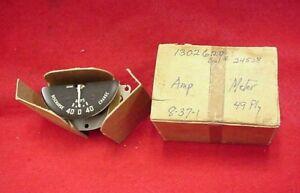 NOS 1949 49 PLYMOUTH SPECIAL DELUXE AMMETER AMP GAUGE MOPAR 1302620