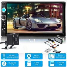 "7"" 2 DIN HD Bluetooth Autoradio Touch Screen Car Stereo USB/TF/FM/AUX MP5 Player"