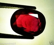 7.05 CT CT Rhodolite Garnet 100% Natural Brazil Mines Certified Wonderful Gems