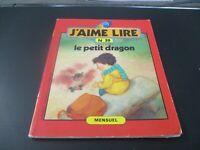 """LIVRE REVUE """"J'AIME LIRE N°59 : LE PETIT DRAGON"""" decembre 1981"""