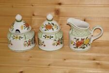Villeroy & Boch SUMMERDAY Creamer, Sugar Bowl & Jam/Jelly Jar | Germany