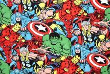 Marvel Super Heroes- Hulk, Iron Man, Thor & More  Ex-Long Fleece Throw New