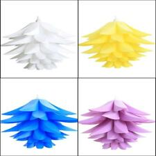 IQ Puzzle Lamps Lotus petals with 12 feet light socket cord - US Seller