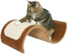 Cat Scratching Wave 19.5 in. W x 7 in. D x 11.25 in. H Sisal Wrapped in Brown