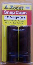 A-Zoom Precision Metal Snap CAPS - 2 PACK, 12 gauge PRACTICE SAFELY SAVE $