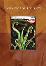 PALAU 2012 - CARNIVOROUS PLANTS STAMP SOUVENIR SHEET MNH
