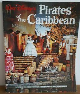 Vintage 1974 Walt Disney's Pirates of the Caribbean Souvenir book