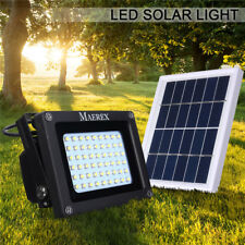 54 LED Solar Power Dusk-to-Dawn Sensor Security Flood Light Outdoor Waterproof