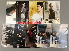 RARE TVXQ DBSK Tohoshinki Max Changmin official 9 star collection cards