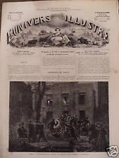 L'UNIVERS ILLUSTREE 1871 N 869 UN TRIPOT CLANDESTIN