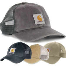 Carhartt Mens Buffalo Mesh Back Adjustable Baseball Cap