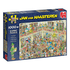 Jan Van Haasteren The Library 1000 Piece Jigsaw Puzzle NEW