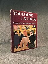 Toulouse-Lautrec. His Complete Etchings & Drypoints by Jean Adhemar (1988)