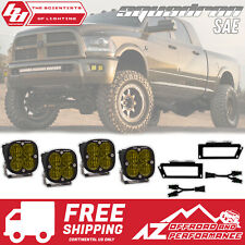 BAJA DESIGNS Amber LED Fog Light Kit For 2010-2018 Dodge Ram 2500 3500
