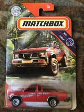 Matchbox '95 Nissan Hardbody Pick Up (021) - Red - NEW