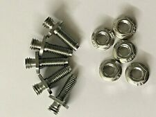 ROVER MINI COOPER SPORTSPACK WHEEL ARCH STAINLESS STUDS & NUTS ZUA000250X