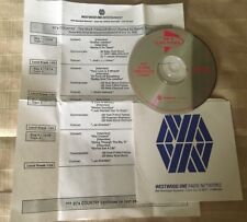 """Mark Chesnutt """"90's Country"""" Westwood One Radio Show # 95-29 with Cue Sheet"""