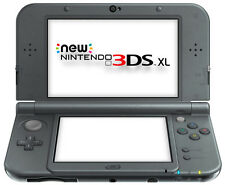 The *NEW* 2014 Nintendo 3DS XL Console Metallic Black PAL / C Stick + Dock NEW