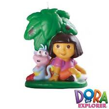 Dora the Explorer w/ Boots Candle from Wilton #6305 - NEW