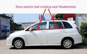 Suzuki Aerio/Liana 2001-07  Door Exterior Belt molding Seal Weatherstrip 4Pcs