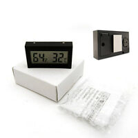 Mini Digital LCD Indoor Room Temperature Humidity Meter Thermometer Hygrometer