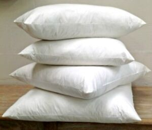 EXTRA FILLED DUCK FEATHER CUSHION INNER PADS INSERT FILLERS HANDMADE