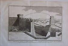 1774 SIÈGE D'EDESSE Polybe torre assedio Khosrau Cosroe Edessa Şanlıurfa