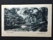Vintage Postcard - Derbyshire #11 - RP View In Dovedale - 1903 - Reliable Series