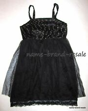 ANGIE NEW Black DRESS Size M MEDIUM Lace Mesh Studded SEXY Goth Rock Chic LBD