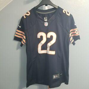 Chicago Bears #22 MATT FORTE NFL Football Nike On Field Jersey Women L Navy Blue