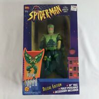 """10"""" Deluxe edition Vulture Marvel Spider Man Animated (1994) Toy Biz"""