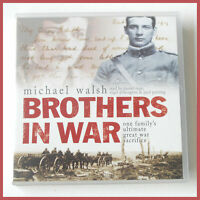 MICHAEL WALSH - BROTHERS IN WAR - 3x CD AUDIO BOOK SET