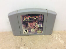 Indiana Jones and the Infernal Machine (Nintendo 64 N64, 2000) Cart Only! Tested