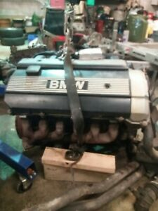 BMW M50B20 NON Vanos COMPLETE engine ECU loom manifold downpipe not M50B25 Turbo