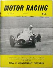September Motor Racing Monthly Sports Magazines