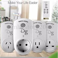 Smart Home RF Wireless Remote Control Socket Power Plug Controller US AU