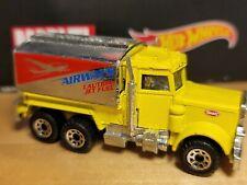 1981 Matchbox Peterbilt Airways Jet Fuel Tanker Truck Diecast Metal