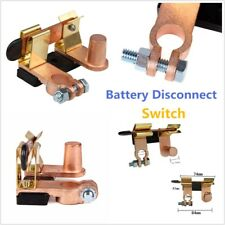 Battery Disconnect Switch Car Truck Bus RV Trailer Brass PVC Anti-corrosion Shut