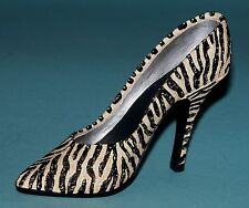 "Just the Right Shoe, Raine, ""Serengeti"" mixed media miniature # 25025 Nib/Coa"