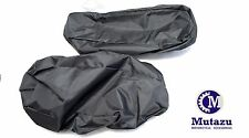 Motorcycle Sounds Saddlebag Lid Waterproof Covers Bagger Audio Speaker Lids
